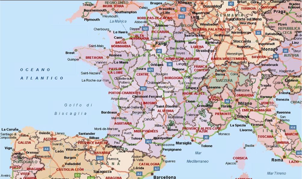 Cartina Fisica Di Parigi.Mappe Angelo Prof Orabona